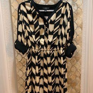 Alfani geo stripe dress - NWT